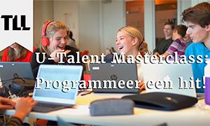Nieuwe U-Talent masterclass: een muzikaal succes