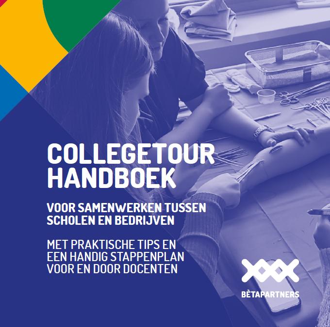 Bètapartners schrijft handboek voor Collegetours
