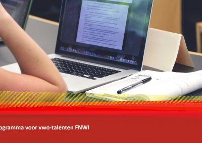 Radboud Programma voor vwo-talenten FNWI