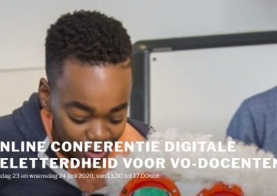 De landelijke conferentie digitale geletterdheid 2020