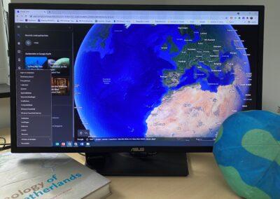 Vakbijeenkomst: De gesteentecyclus tot leven gewekt in Google Earth